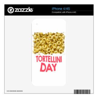 Thirteenth February - Tortellini Day iPhone 4 Decal
