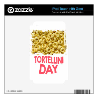 Thirteenth February - Tortellini Day Skin For iPod Touch 4G