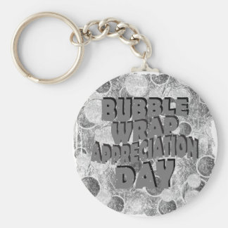 Thirtieth January - Bubble Wrap Appreciation Day Keychain