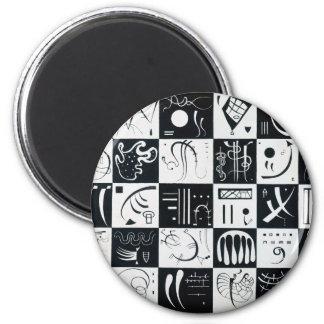 Thirty 2 Inch Round Magnet
