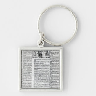 Thirty and Two Extremes of these times Keychain