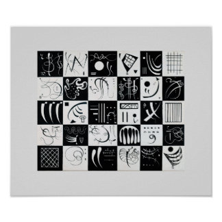 Thirty by Wassily Kandinsky Poster