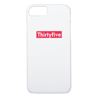 thirty five Years old funny 35th birthday iPhone 8/7 Case