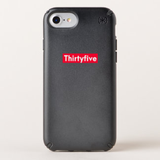 thirty five Years old funny 35th birthday Speck iPhone Case