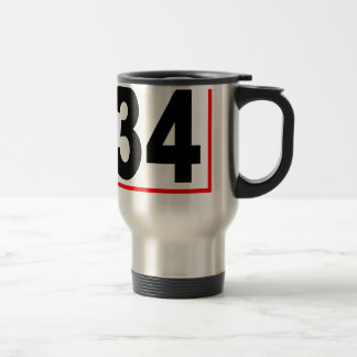 Thirty-Four Women's T-Shirts.png Travel Mug