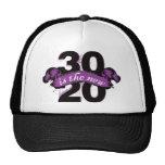 Thirty is the New Twenty - Purple Trucker Hat