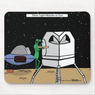 """""""Thirty Light-Minutes"""" Mouse Pad"""