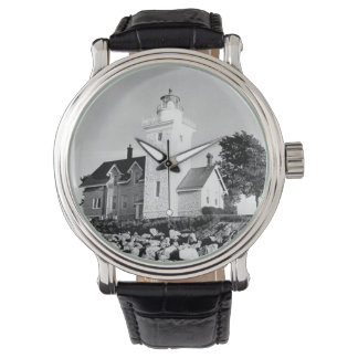 Thirty Mile Point Lighthouse Wrist Watches