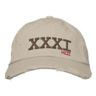 Thirty-One H.O.T. Embroidered Baseball Cap
