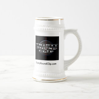 Thirty Round Clip Merch-Logo #1 Beer Stein