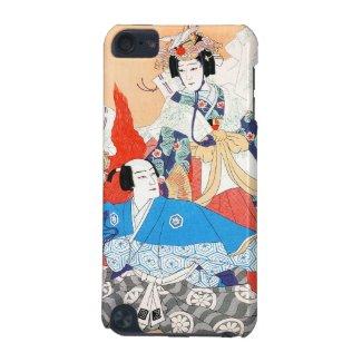 Thirty-six Kabuki Actors Portraits - Two Dancers