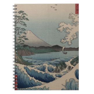 Thirty-six Views of Mount Fuji  富士三十六景,  Hiroshige Notebook