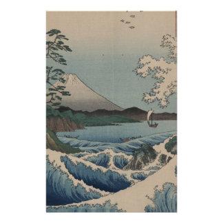 Thirty-six Views of Mount Fuji  富士三十六景,  Hiroshige Stationery