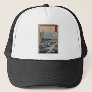 Thirty-six Views of Mount Fuji  富士三十六景,  Hiroshige Trucker Hat