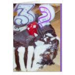 Thirty something birthday card