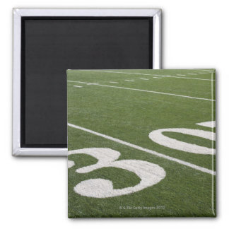 Thirty yard line 2 inch square magnet