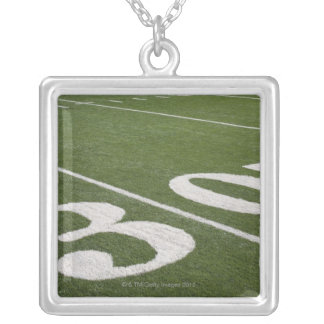 Thirty yard line necklace