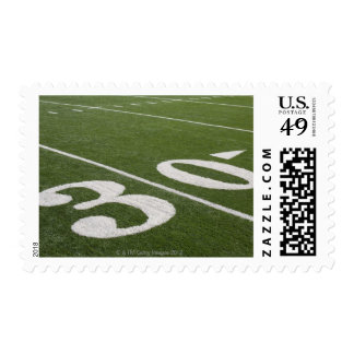 Thirty yard line stamps