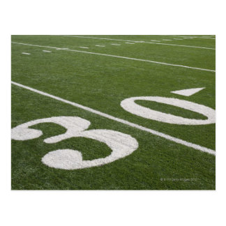 Thirty yard line postcard