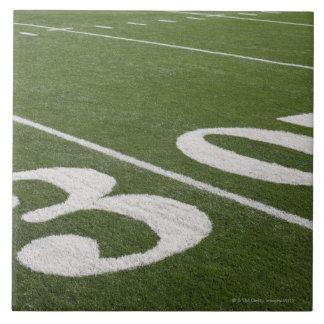 Thirty yard line ceramic tiles
