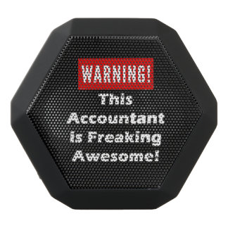 This Accountant is Freaking Awesome! Black Bluetooth Speaker