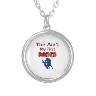 This Ain't My First Rodeo Silver Plated Necklace
