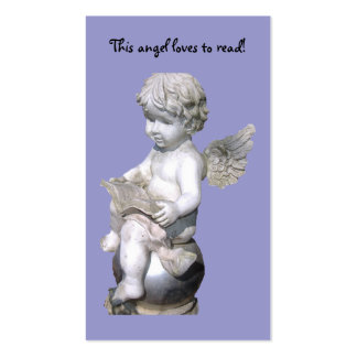 This Angel Loves To Read! Bookmark Business Card