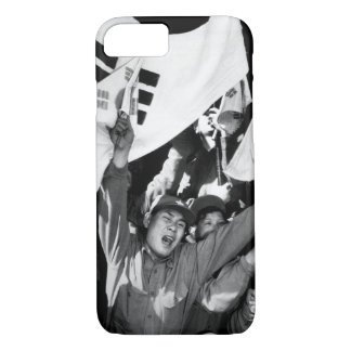 This anti-Communist North Korean_War Image iPhone 7 Case
