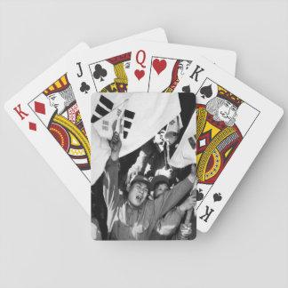 This anti-Communist North Korean_War Image Playing Cards