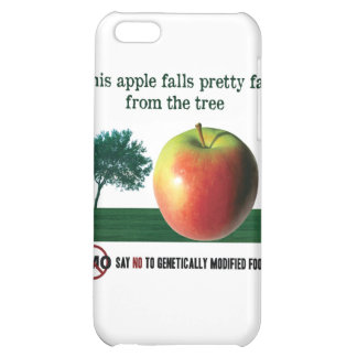 This apple falls pretty far from the tree. NO GMO Case For iPhone 5C