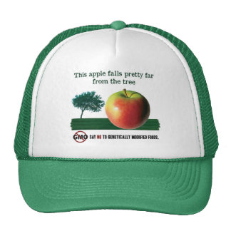 This apple falls pretty far from the tree. NO GMO Trucker Hat