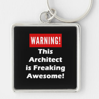 This Architect is Freaking Awesome! Keychain