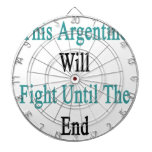 This Argentine Will Fight Until The End Dartboards