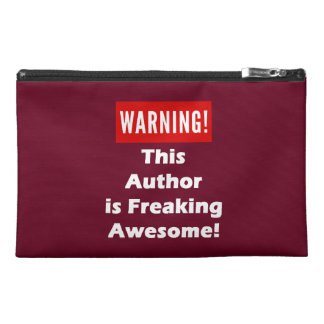 This Author is Freaking Awesome! Travel Accessory Bags