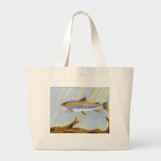 This Award Winning artwork features the Brook Trou Large Tote Bag