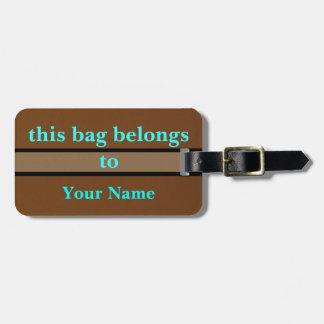 This Bag Belongs To Bag Tag