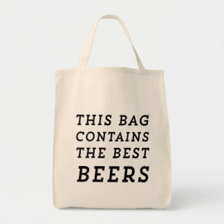 This Bag Contains the Best Beers