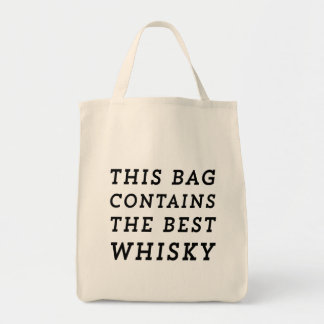 This Bag Contains the Best Whisky