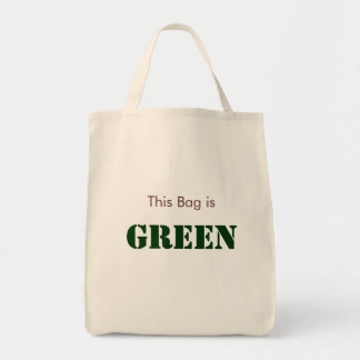 This Bag is Green (Light Colors)