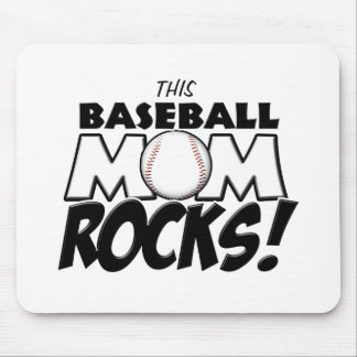 This Baseball Mom Rocks copy.png Mouse Pad