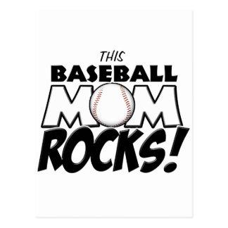 This Baseball Mom Rocks copy.png Postcard