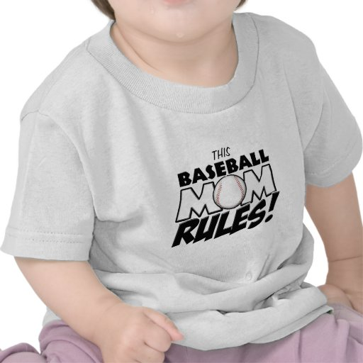 This Baseball Mom Rules copy.png T Shirts