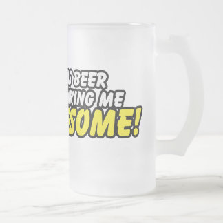This Beer $23.95 Frosted Glass Beer Stein