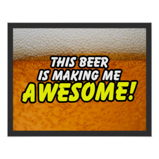 This Beer Poster $18.95