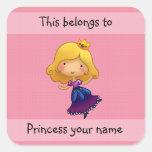 This belongs to princess sticker