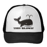 This Blows Whale Design Trucker Hat