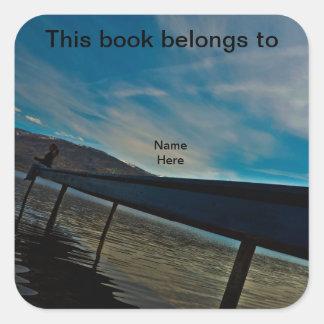 This Book Belongs To, Dock Bookplate Sticker