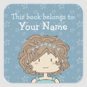 This book belongs to... ex libris / bookplate sticker
