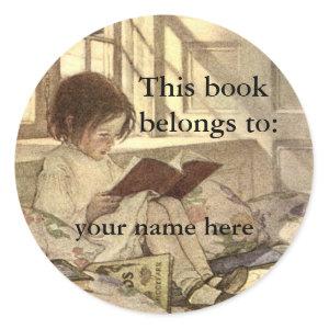 This Book Belongs To Jessie Willcox Smith sticker