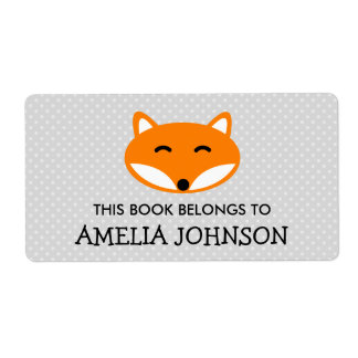 This book belongs to red fox bookplate labels